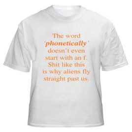 The Word Phonetically