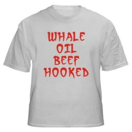 Whale Oil Beef Hooked
