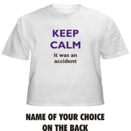 Keep Calm Was Accident