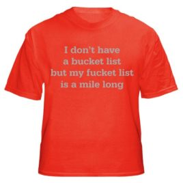 Don't Have Bucket List